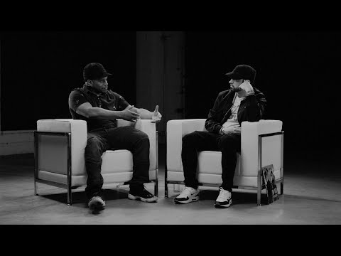 Julian Lee - Sway and Eminem Sit Down for the Kamikaze Interview