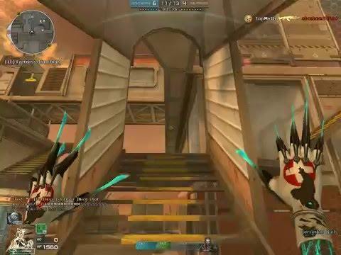 CrossFire NA : Desert Fortress MK Gameplay