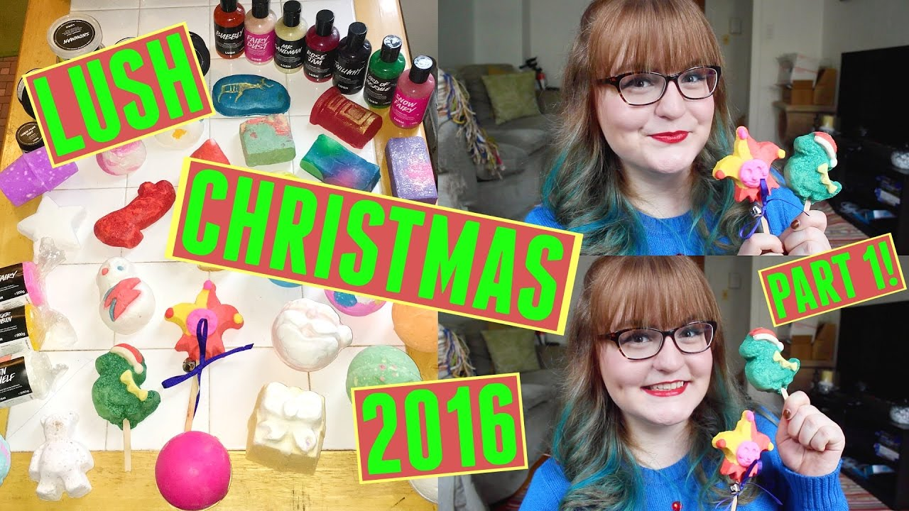 LUSH WOW Christmas Gift 2016 Unboxing MORE