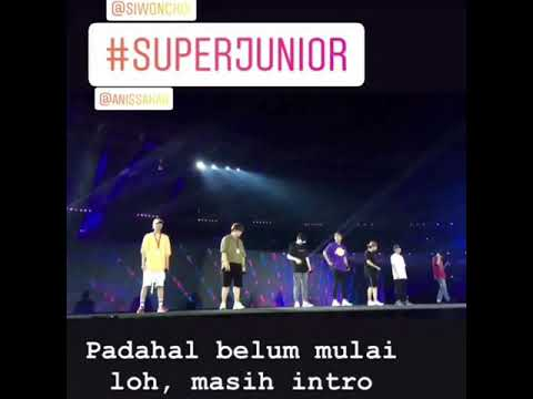 180901 SUPER JUNIOR♡ASIAN GAMES 2018 Rehearsal