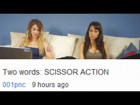 SCISSOR ACTION! from YouTube · Duration:  1 minutes 44 seconds