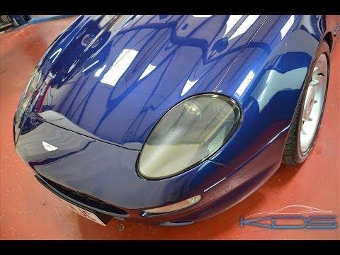 Aston Martin DB7 restoration by KDS Keltec
