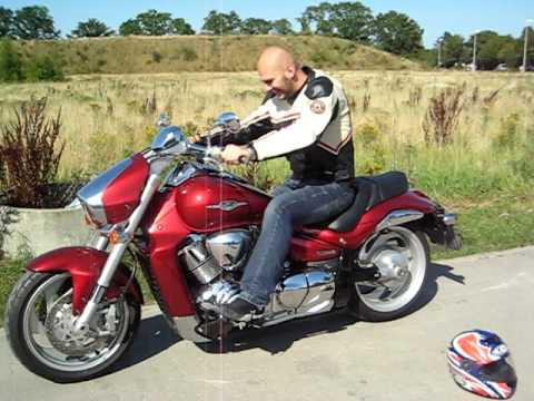 suzuki intruder m1800r walkaround engine start up. Black Bedroom Furniture Sets. Home Design Ideas