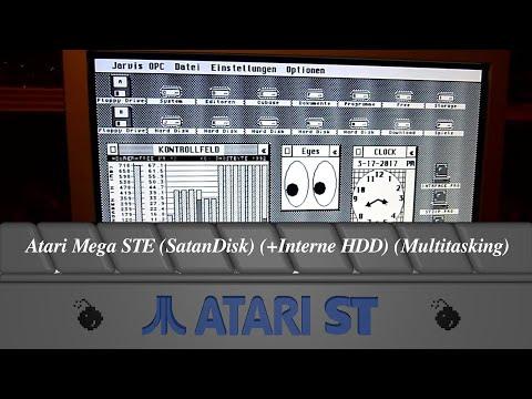 Atari Mega STE (SatanDisk) (+Interne HDD) (Multitasking)