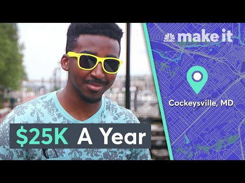 Living On $25K A Year In Greater Baltimore | Millennial Money