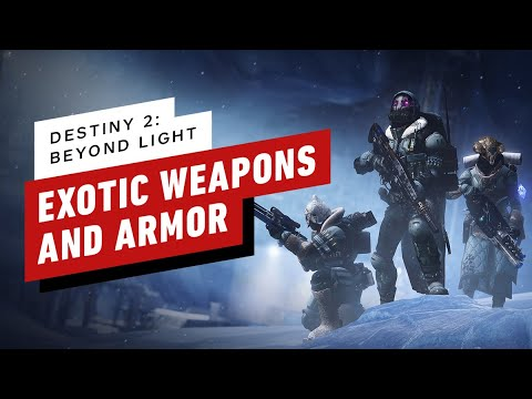 Destiny 2: Beyond Light - The New Exotic Weapons and Armor Explained - IGN