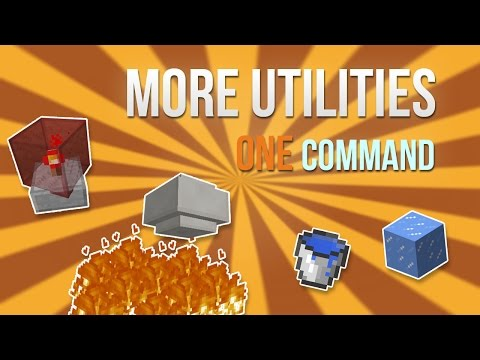 Minecraft - More Utilities in one command!