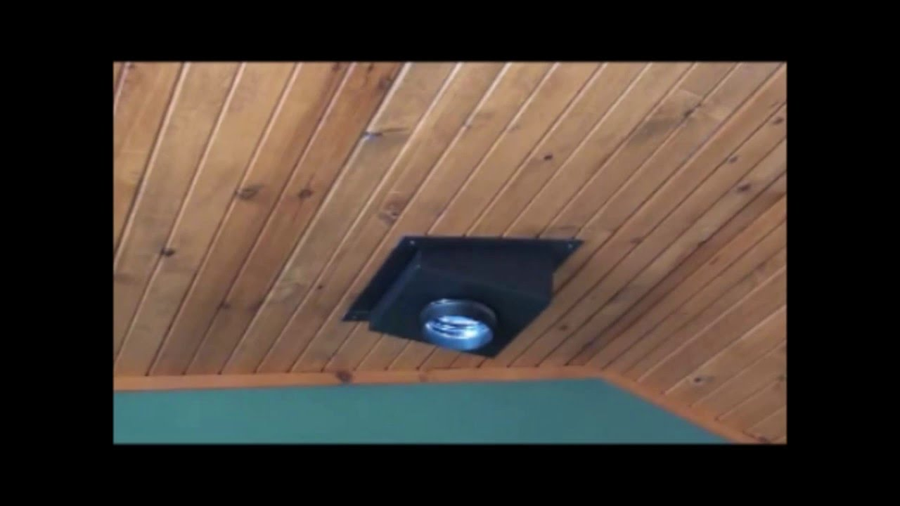 Chimney Ceiling Support Box Installation Youtube