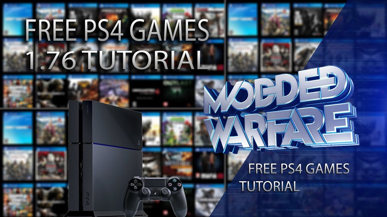 How to Run Free Full Games on a 1 76 PS4