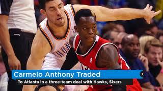 Thunder Update: Thunder sends Carmelo Anthony to Atlanta