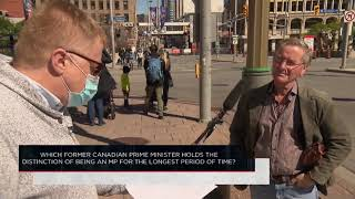 Which Canadian PM holds the distinction of being an MP for the longest period of time? | Outburst