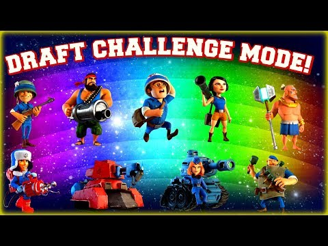 Weekly Draft Challenge LIVE in Boom Beach! [Patrons & Channel Sponsors]