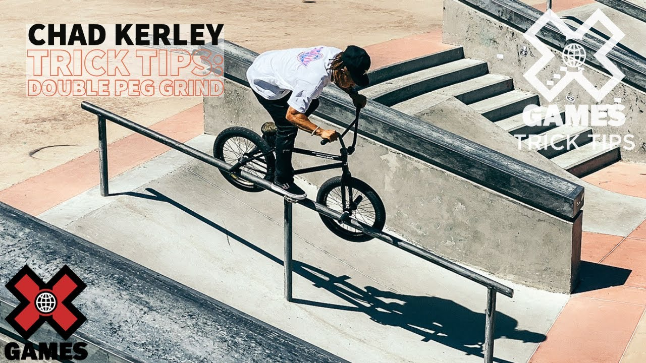 CHAD KERLEY: Peg Grind Trick Tips | World of X Games