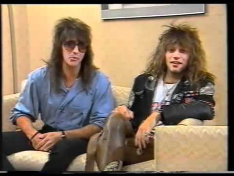 Bon Jovi - Funny Interview MTV Australia 1987