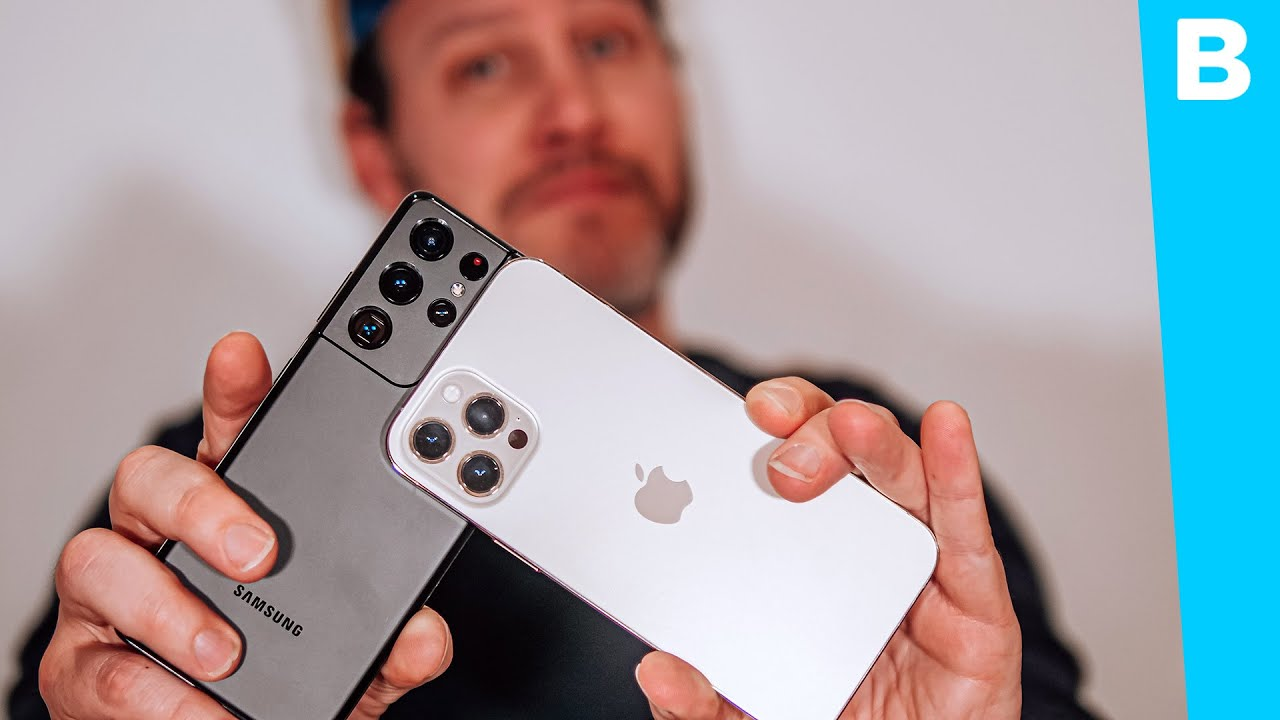 Apple versus Samsung! Wie wint deze nieuwe cameratest? - Bright