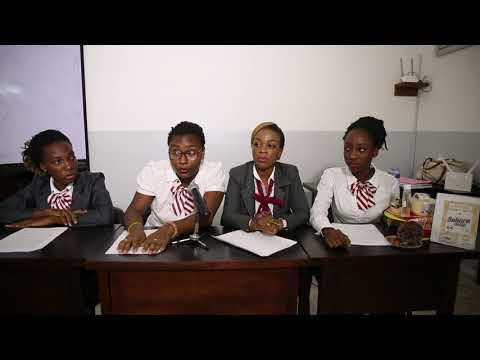 Exercice Conférence de presse à l'Université des lagunes d'Abidjan