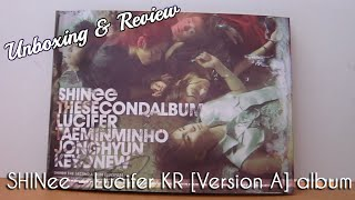 SHINee - Lucifer [Version A] CD Unboxing & Review