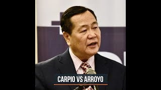 Carpio is more trusted than Arroyo – Pulse Asia