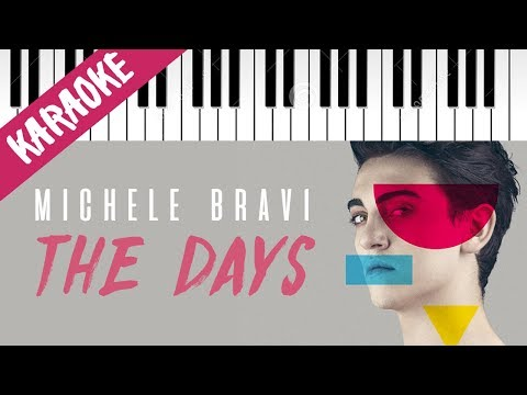 Michele Bravi | The Days (Acoustic Version) // Piano Karaoke con Testo