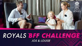 Jos Buttler & Louise Buttler take on the Royals BFF Challenge - IPL 2021