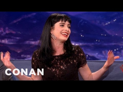 Krysten Ritter Picks Her Make Out Partners  CONAN on TBS