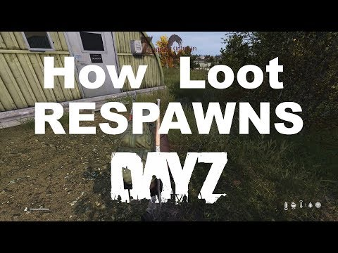 DayZ How Loot Respawns Xbox One PS4 PC Loot Respawning Explained
