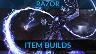 Bring the spark of death by picking the right items | Razor Item Build | DotA 2 Pro Guide by SMD