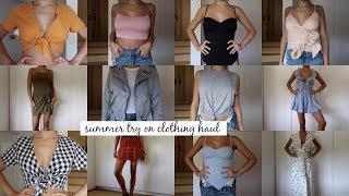 Massive Try-On Beachy / Summer Clothing Haul l Olivia Jade
