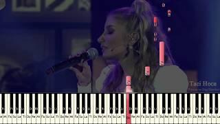 Org ve Piyano Dersleri - Ben Tek Siz Hepiniz ( İrem Derici ) - Taci Hoca : 0543 232 91 22