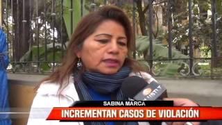 INCREMENTAN CASOS DE VIOLACIÓN