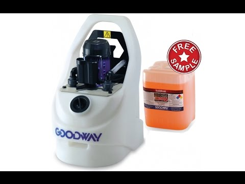 Goodway GDS-C40 Scale Removal System & ScaleBreak Liquid Descaler (Free Sample)