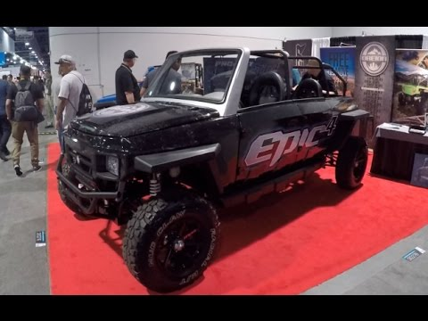 Oreion side by side ATVs :SEMA 2016