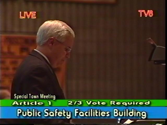 Town Meeting - October 15, 2002