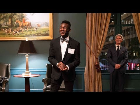 Millbrook's NYC Reception - Ousseni Bouda '19