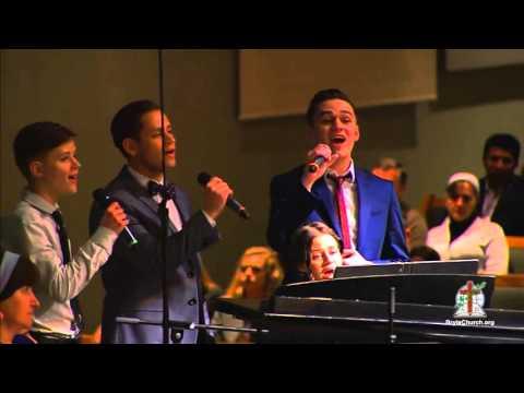 Пение Берегите любовь - участие семьи Шариковых