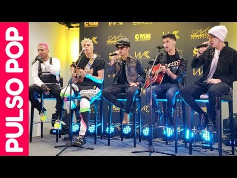 CNCO cantan acústico en evento privado (MIAMI) | CNCO World Tour