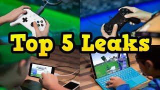 Top 5 BIGGEST Minecraft Leaks EVER