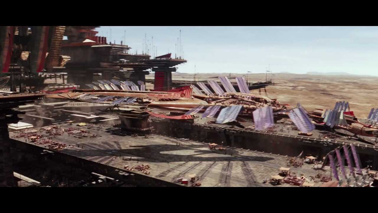 Disney - JOHN CARTER - Offizieller Trailer (HD)