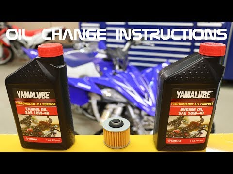 How to Change Oil on any 4 stroke ATV or Motorcycle