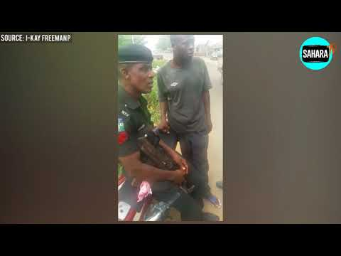 """Nigerian Police Officer Rejects Bribe Because It Was Too """"Small"""""""