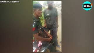 Nigerian Police Officer Rejects Bribe Because It Was Too