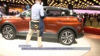 Automobile : les retombées après le mondial parisien