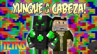 YUNQUE A LA CABEZA!! - TETRIS EN MINECRAFT - MINIJUEGO C/ WILLYREX