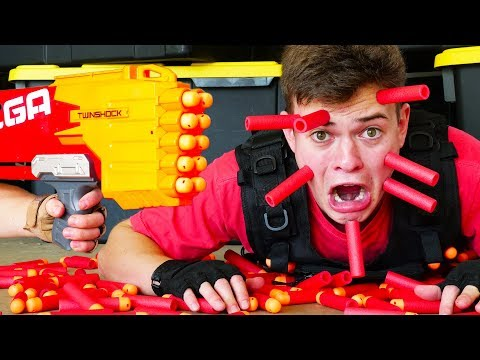 Nerf War: 5 Million Subscribers