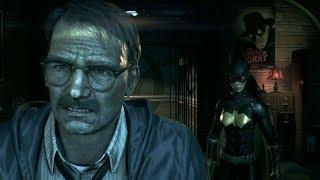 Batman: Arkham Knight - Gordon punches Batgirl