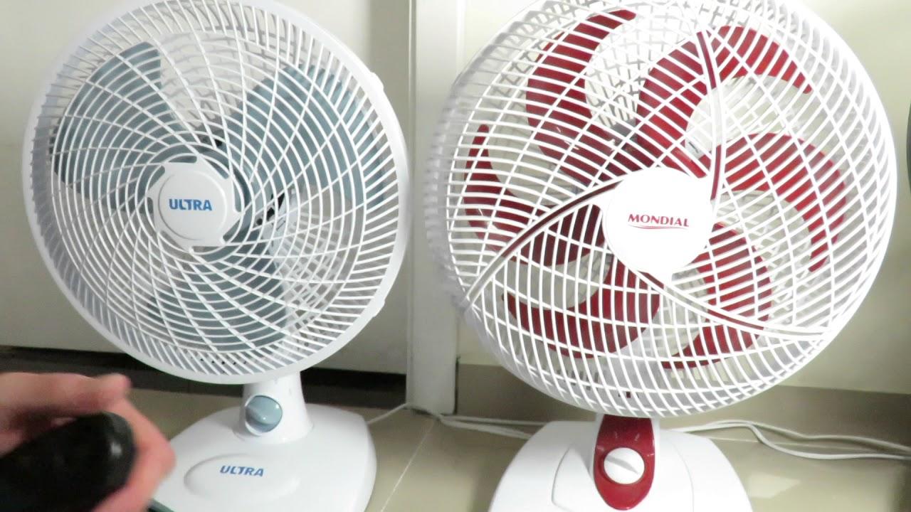 5c9622e86 Confronto ventilador ULTRA 30cm vs Mondial Premium vs Silence Force vs  Ventus 30 six - Velocidade