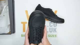 Ecco Howell Lace Gore-Tex - Black - Walktall | Unboxing | Hands on