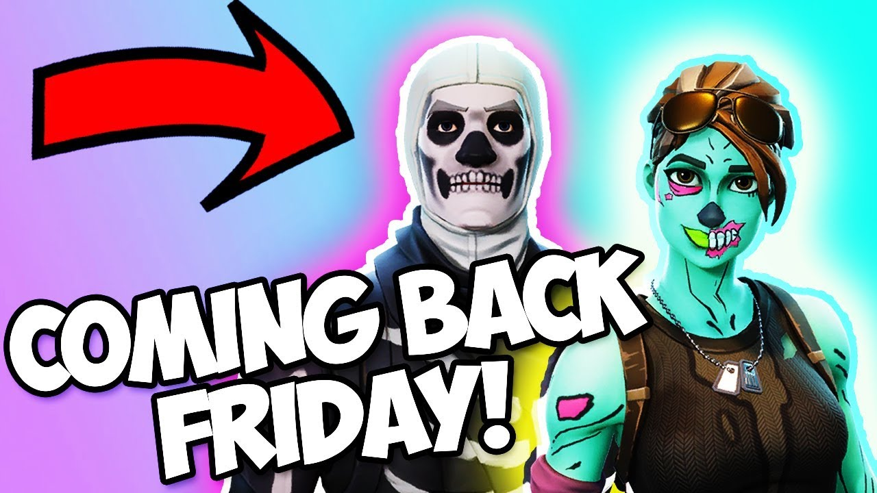 Leaked July 13th The Skull Trooper Is Returning Friday The 13th