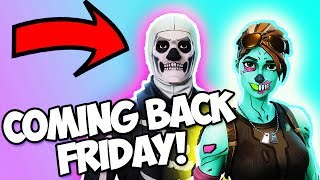 *LEAKED* JULY 13TH THE SKULL TROOPER IS RETURNING!!! (Friday the 13th Fortnite Battle Royale)