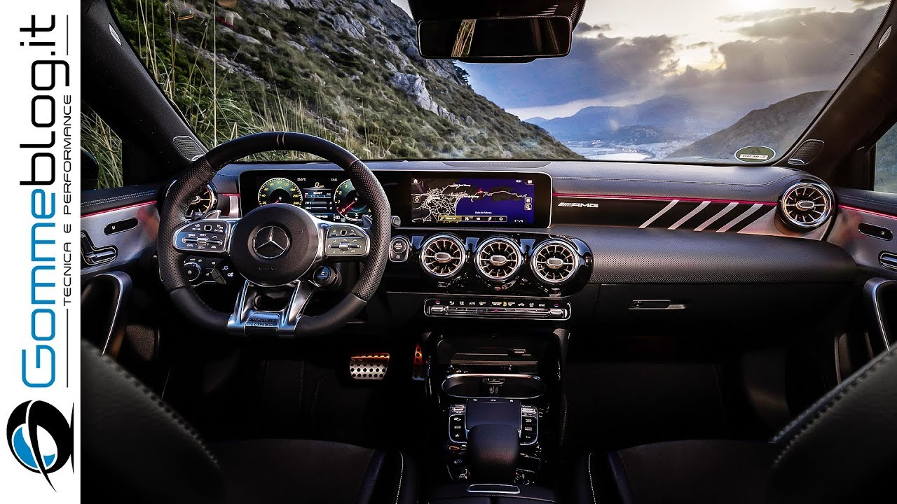 2019 Mercedes A35 AMG - INTERIOR and DESIGN - YouTube